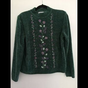 Alfred Dunner chenille sweater